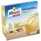 MinusL: Jemný puding vanilkový bez laktózy 4x125g