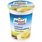 MinusL: Nadýchaný smetanový puding vanilkový bez laktózy 150g