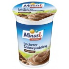 MinusL: Nadýchaný smetanový puding čokoládový bez laktózy 150g