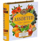 Basilur: Fruit Infusions Book Summer Fiesta plech 32x1,8g
