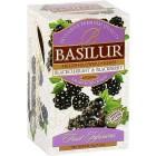 Basilur: Fruit Blackcurrant & Blackberry 20x1,8g