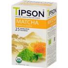 Tipson: Matcha Honey & Lemon BIO 25x1,5g