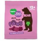 Bear ovocné tlapky jablko & černý rybíz 20g