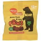 Bear ovocné tlapky mango & mrkev 20g