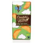Hořká čokoláda s pomerančem 72% BIO 100g