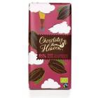 Hořká čokoláda Peru a Dominikánská republika 85% BIO 100g