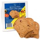 Bezgluten: Bezlepkový chléb tmavý s dýní a brusinkou 200g