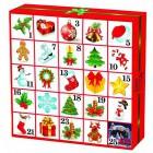 ETS: Adventní kalendář Vánoční ozdoby 25ks