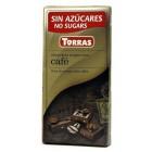 Čokoláda s kávou bez cukru 75g
