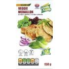 Vegetariánská alternativa kuřecích medailonků se zeleninou 150g