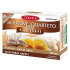 Houbové Quarteto s reishi 60cps.