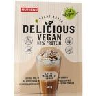 Delicious vegan protein latte macchiato 30g