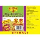 PIZZA Spinaci bezlepková 320g
