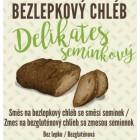 Bezlepkový chléb Delikates se směsí semínek 500g