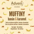 Adveni: Muffiny s banány a karamelem 280g