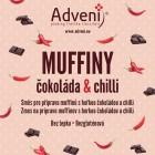 Adveni: Muffiny s čokoládou a chilli 280g