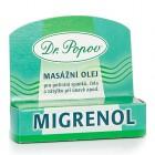 Dr. Popov: Migrenol masážní olej roll-on 6g