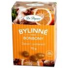 Dr.Popov: Bylinné bonbony Zázvor pomeranč 70g
