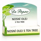 Dr.Popov: Nosní olej s tea tree - roll on 6ml