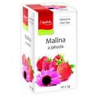 Apotheke: Ovocný čaj Malina a jahoda 20x2g