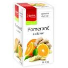 Apotheke: Ovocný čaj Pomeranč a zázvor 20x2g
