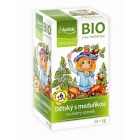 Apotheke: Dětský ovocný čaj s meduňkou BIO 20x2g