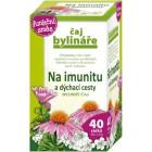 Čaj bylináře: Čaj na imunitu a dýchací cesty 40x1,6g