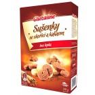 Glutaline: Sušenky se skořicí a kakaem bezlepkové 140g