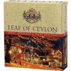 Basilur: Leaf of Ceylon Vánoční 011 Assorted