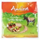 Amaizin: Tortilla Wraps 6 ks BIO 240g