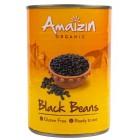 Amaizin: Fazole černá sterilovaná BIO 400g