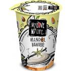 My Love My Life: Mandlový zakysaný Vanilka BIO 180g