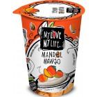My Love My Life: Mandlový zakysaný Mango BIO 180g