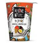 Kokosový zakysaný jogurt Mango BIO 180g
