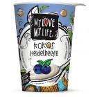 My Love My Life: Kokosový zakysaný Borůvka BIO 180g