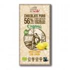 Solé: Hořká čokoláda citrónová BIO 100g