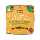 Bezlepkové Indické kosové kari s rýží vegan 300g