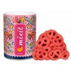 Mixit preclíky - Jogurtová čokoláda s jahodami 250g