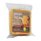 Koliós: Veganská alternativa sýru čedar plátky 200g